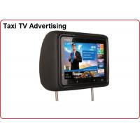 Taxi TV Advertising 10.1 inch Head Rest Taxi LED Display 1280x800 Resolution