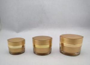 Quality 15gr 30gr 50gr plastic cosmetic acrylic jar for eye cream for sale