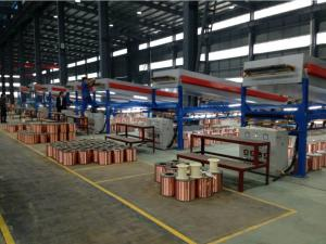 China 300mpm 24H Wire Annealing Machine , Durable Copper Tubular Annealing Machine on sale