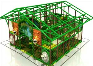 China Commercial Kids Plastic Indoor Playground Inflatable Gym Jungle Playground on sale