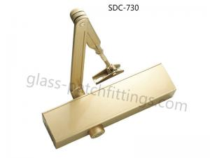 China Adjustable Back Check Surface Mounted Door Closer Large Bearing Capacity 40 - 80kg on sale