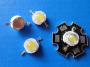 China 1 w high power led 140-150lm/w / bridgelux led chip from usa with 8 years warranty on sale