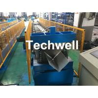 Customized Cold Roll Forming Machine With Manual Decoiler For Making Roof Ridge Cap , Ridge Flashing