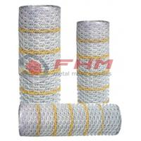 China Professinal Supplier of Hexagonal Stucco netting Paperback netting with 20 gauge wire on sale