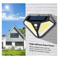 China PIR Motion Sensor 3.7Volt SMD2835 Solar Powered LED Wall Light on sale