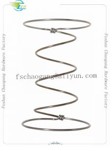 China 7 Turns High Carbon Steel Wire Spring Coil For Bed Mattress Good Resilience on sale