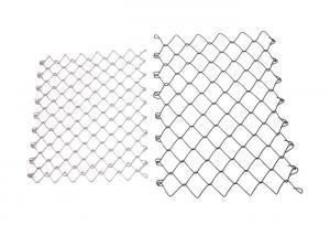 China Galvanized Steel Chain Link Fabric 6ft. x 50 ft. 11.5-Gauge for Playground on sale