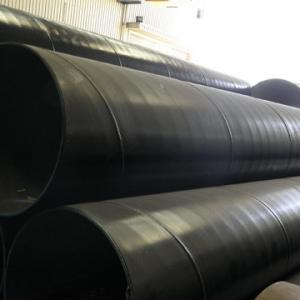China X52, X60 API 5L Black SSAW Steel Pipe with 219 to 2620mm Large Diameter Steel Pipes on sale
