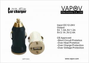 China CE approved 1A single port usb car charger for Apple ,Android ,Samsung Mobile phone on sale