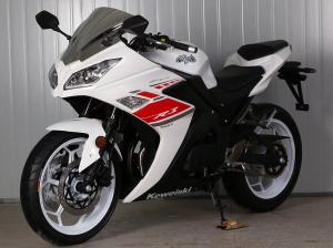 China Gas Motor  Street Sport Motorcycles , 250cc Cool Sport Bikes / Street Bikes White Color on sale