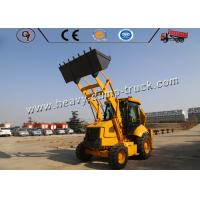 Mini Tractor Heavy Construction Equipment With Front End Loader And Backhoe Loader