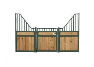 China All Colors European Horse Stalls , Stall Front Kits Horse Farm Equipment on sale