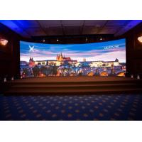 Pixel Pitch 3.91mm Audio Visual Screens , Indoor Curved LED Display AC110-220V