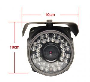 China 720p CMOS Waterproof IP Camera WDR 2.8-12mm Zoom Lens on sale