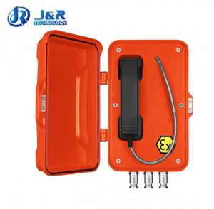 China Anti Corrosion Auto Dial Heavy Duty TelephoneBox With Power Over Ethernet Powered on sale