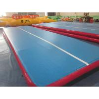 PVC Tarpaulin Inflatable Sprots Games Portable Inflatable Air Tumble Track For Gymnastics