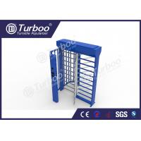 China Stainless Steel Full Height Turnstile Automatic Access Control System Gate on sale