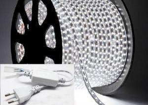 China 110v 5050 RGB LED Strip Light , IP67 LED Flexible Ribbon Strip Lights 60 Leds on sale