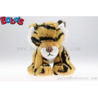 Small Size High Quanlity Custom Plush Brown Tiger Toys