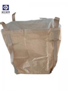 China Metal Packing FIBC Bulk Bag 1000KG Skirt Top Spout Bottom UV Stabilization on sale