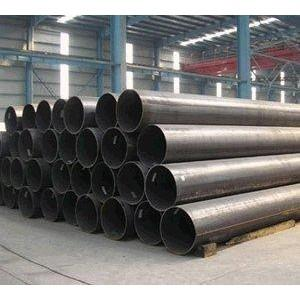 China ASTM A53 Grade B ERW Pipe , ERW Black Steel Pipe For Petrolum / Natural Gas on sale