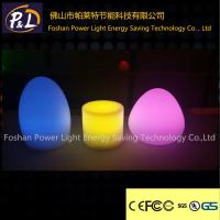 Bar Use Multi-Color Decorative Egg shape LED Table Lamp