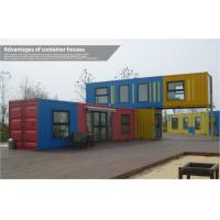 Custom Modern Prefab Shipping Container Homes , Mobile Modular Shipping Container House