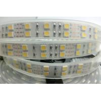 Double Row RGB Waterproof Led Tape Light Kit 5M 120leds/M Exterior Led Strip Lighting