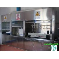 Low Cost High Quality Stainless Lab Furniture Chemical Lab Fume Hood 6 feet wide Stainless Steel Laboratory Fume Cabinet