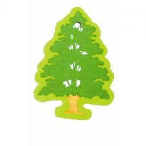 China Tree shape paper air freshener on sale
