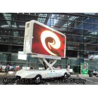 China P4 outdoor Car LED Sign Display Density 62500 , SMD High Brightness Led Screen Waterproof on sale