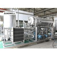 China Warm temperature carbon mixer used in Carbonated drink line soft drink washing filling capping machine on sale