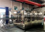 Glass Bottle Soda Water / Energy Drink Filling Machine / Carbonated Drink Production Line