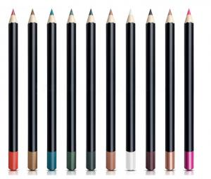 China Professional Makeup Lip Liner Pencil Wooden Materials With Mineral Ingredient on sale