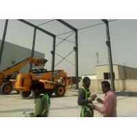 Flameproof Prefabricated Workshop Buildings For Light Steel Structure Workshop