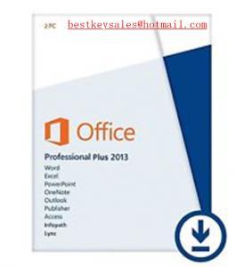 Quality Microsoft Office 2013 - Professional Plus 2PC, FPP, ESD, NEU, original online for sale