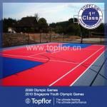 Outdoor Basketball Court Flooring