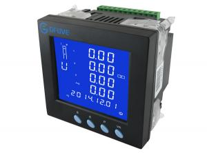China 800V Digital Multifunction Electric Power Meter RS485 / RJ45 With PC Software on sale