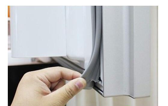 Dust Proof Polyvinyl Chloride Refrigerator Door Seal Plastic Seal Strip  Images