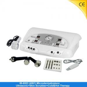 China Diamond Microdermabrasion Machine / Ultrasonic Skin Scrubber Machine For Beauty Salon IB-6003 on sale