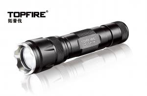 China Aluminum Ultra-bright Rechargeable LED Flashlights Cree LED And 50,000h Lifespan - JE20 on sale