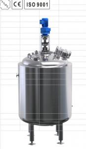 China Biological Stainless Fermentation Tank For Biological Surface Finish on sale