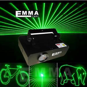 China 200MW verdissent la lumière professionnelle d'exposition de laser de projecteur d'étape d'éclairage de laser d'animation on sale