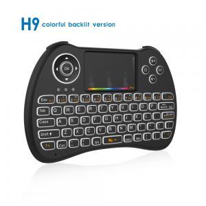 China USB Mini Wireless Keyboard Mouse Combo H9 With Sensitive Multi - Touchpad on sale