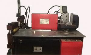 China Multi - Functional Busbar Bending Machine Smooth Cut Surface Working Size 12x160mm on sale