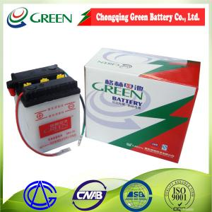 China 6N4-2A Top quality dry Charged Motorcycle Battery 6V 4AH on sale