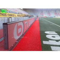P8 Electronic Perimeter Football High definition LED screen Advertising