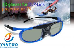 China DLP LINK 3D Glasses with Rechargeable Active Shutter Eyewear for 96-144Hz All DLP-Link 3D Projectors YT-SG800D on sale
