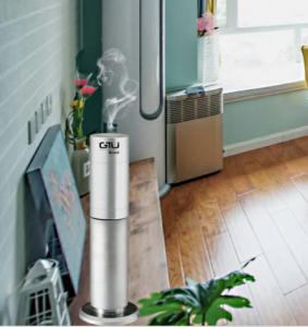 China Portable Air Freshener Dispenser Machine Stand Alone Automatic Scent Dispenser For Small area on sale