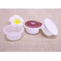 China 10g Plastic Capsules Cup With Aluminum Sealing Film For Mouth Rinse Packaging on sale